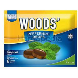 Woods's Peppermint Drops Original 15gm 6s