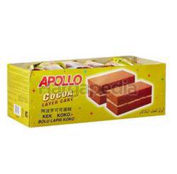 Apollo Cocoa Layer Cake 24x18gm