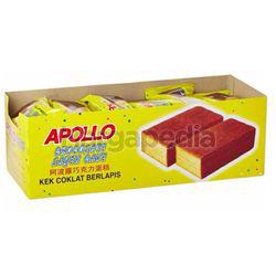 Apollo Chocolate Layer Cake 24x18gm