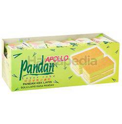 Apollo Pandan Layer Cake 24x18gm
