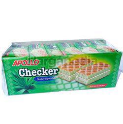 Apollo Checker Pandan Layer Cake 24x18gm