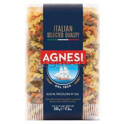 Agnesi Pasta Eliche Tricolori n.656 500gm
