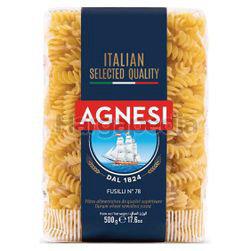 Agnesi Pasta Fusilli 500gm