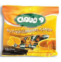 Cloud 9 Candy Butter Caramel 25x2.5gm