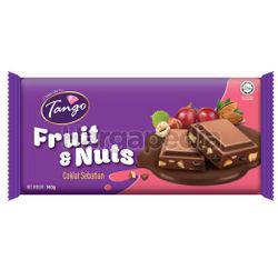 Tango Chocolate Bar Milk Chocolate Fruit & Nuts 140gm