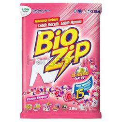 Bio Zip Detergent Powder Parfum Bouquet 3.8kg