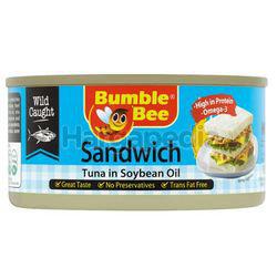 Bumble Bee Sandwich Tuna In Soybean Oil 185gm