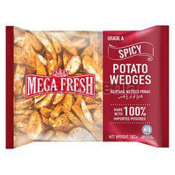 Mega Fresh Spicy Wedges 1kg