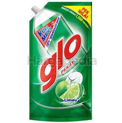 Glo Dishwashing Liquid Lime Refill 850ml