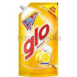 Glo Dishwashing Liquid Lemon Refill 850ml