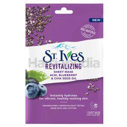 St Ives Gentle Revitalizing Sheet Mask  1s