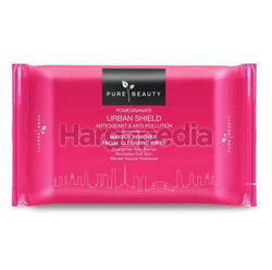 Pure Beauty Pomegranate Urban Shield Makeup Remover Wipes 20s