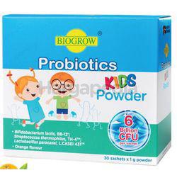 Biogrow Probiotics Kids Powder 30x1gm