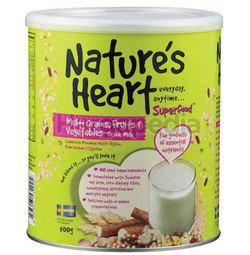 Nature's Heart Multi Grains, Fruit & Vegetables Drink Mix 500gm
