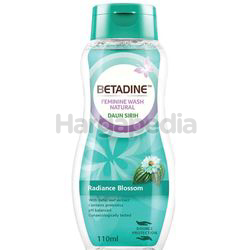 Betadine Daily Feminine Wash Daun Sirih Radiance Blossom 110ml