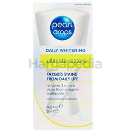Pearl Drops Daily Whitening Ultime Restore Toothpaste 50ml