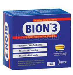 Bion 3 Probiotic Multivitamins & Minerals 60s
