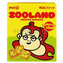 Meiji Land Biscuit Zooland 70gm