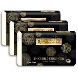 Royal Gold Black Soft Pack 3x50s