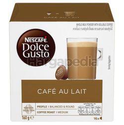 Nescafe Dolce Gusto Cafe au Lait Coffee 16s