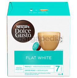 Nescafe Dolce Gusto Flat White Coffee 16s