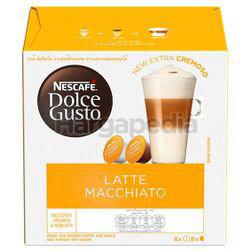Nescafe Dolce Gusto Latte Macchiato Coffee 16s
