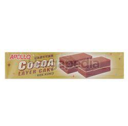 Apollo Cocoa Layer Cake 8x18gm