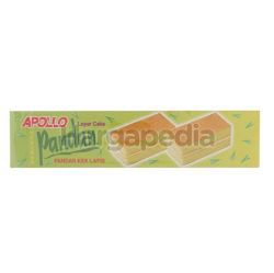 Apollo Pandan Layer Cake 8x18gm