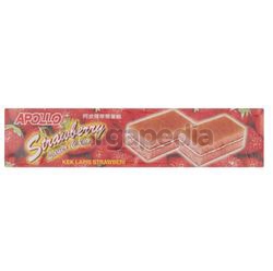 Apollo Strawberry Layer Cake 8x18gm