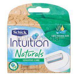 Schick Intuition Natural Refill Cart 3s