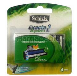 Schick Exacta 2 System Refills 4s