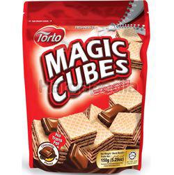 Torto Magic Cubes Chocolate 150gm