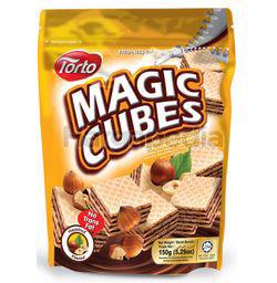 Torto Magic Cubes Hazelnut 150gm