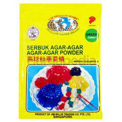 Swallow Globe Agar Agar Powder Green 10gm