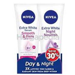 Nivea Body Extra White Serum Day & Night Set