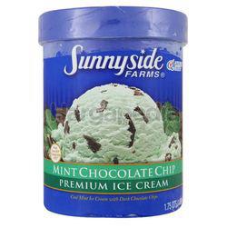 Sunnyside Farms Ice Cream Mint Chocolate Chip 1.42lit
