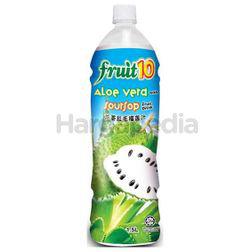 Fruit 10 Fruit Drinks Soursop with Aloe Vera Bits 1.5lit