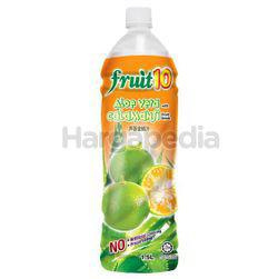 Fruit 10 Fruit Drinks Calamansi with Aloe Vera Bits 1.5lit