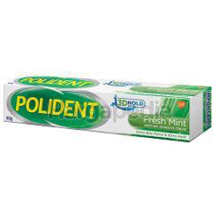 Polident Adhesive Cream Fresh Mint 60gm