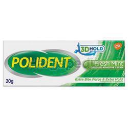 Polident Adhesive Cream Fresh Mint 20gm
