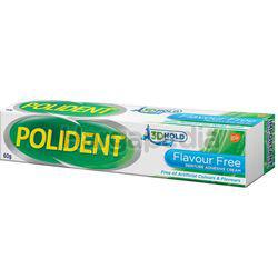 Polident Adhesive Cream Flavor Free 60gm