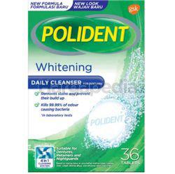 Polident Denture Whitening Daily Cleanser 36s
