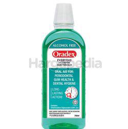 Oradex Everyday Antiseptic Mouthwash 750ml