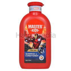 Master Kids Shampoo & Conditioner Ironman 150ml