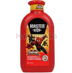 Master Kids Shampoo & Conditioner Spiderman 150ml