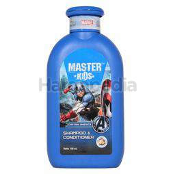 Master Kids Shampoo & Conditioner Captain America 150ml