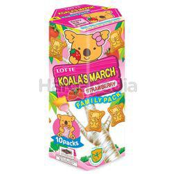 Koala's March Family Pack Strawberry 195gm