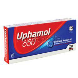 Uphamol 650mg 2x10s