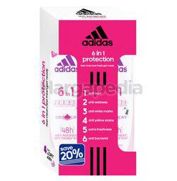 Adidas Women Deodorant Spray 6in1 2x150ml