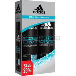 Adidas Men Deodorant Spray Ice Dive 2x150ml